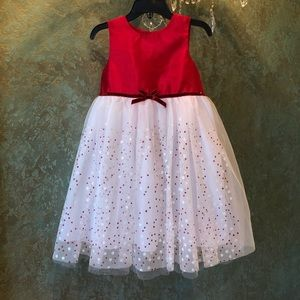 NWOT! Holiday /Christmas dress by Marmellata 3T